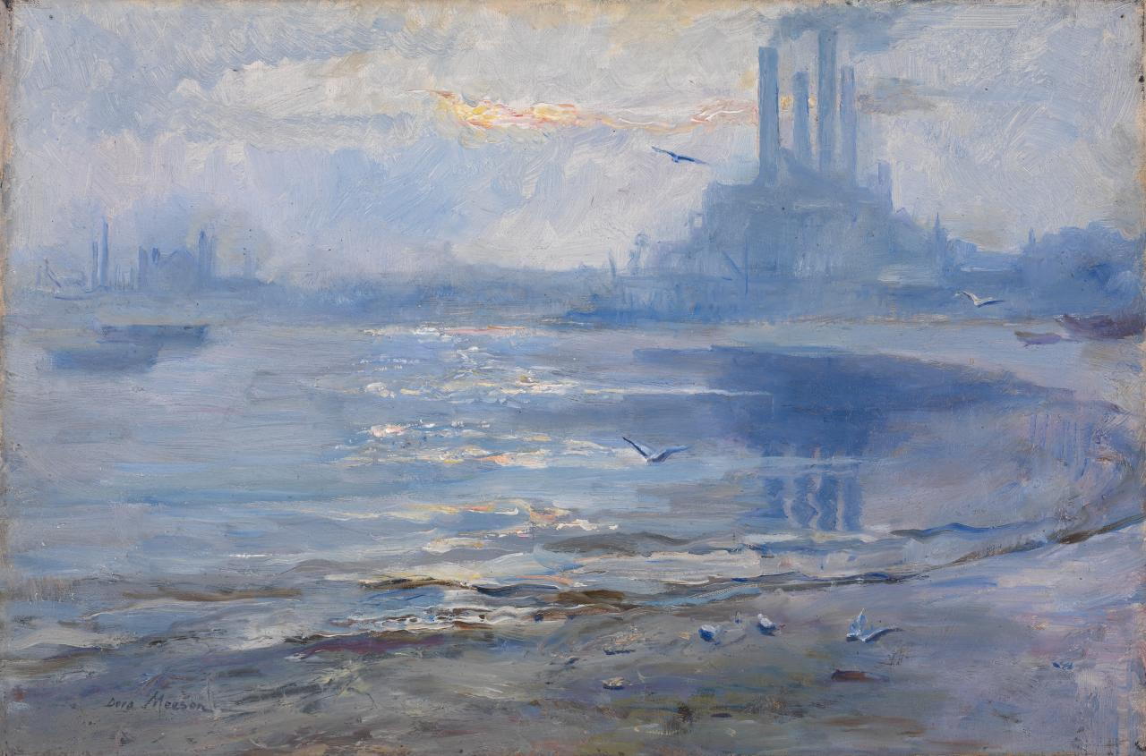 A foggy afternoon, Chelsea Reach