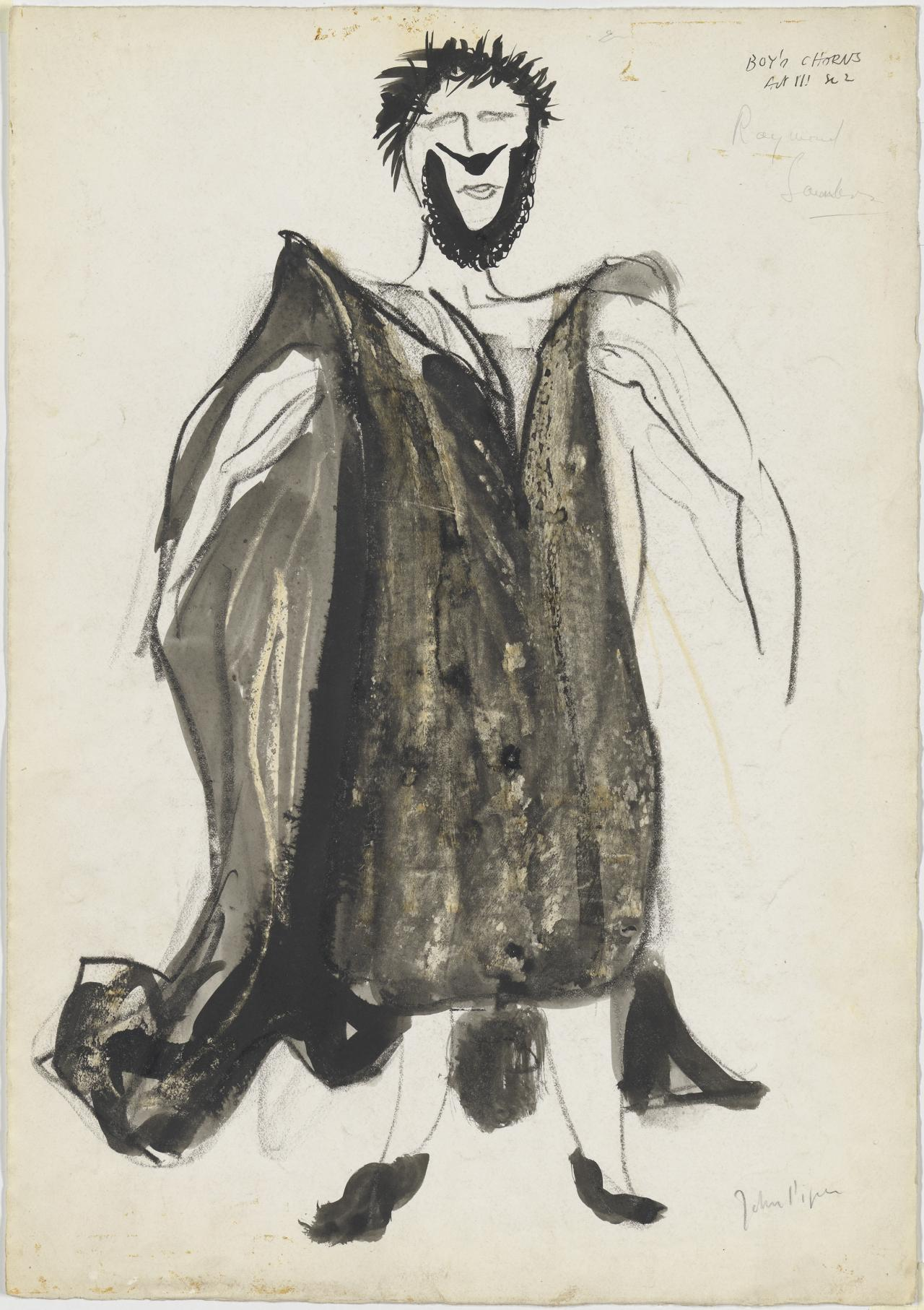 Costume design for the boys chorus