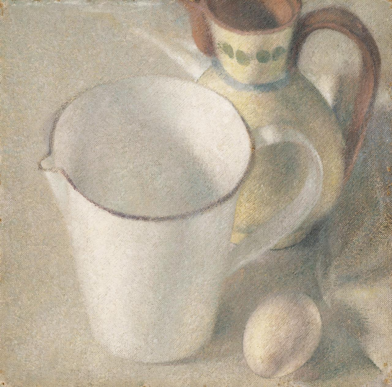 Jug and egg