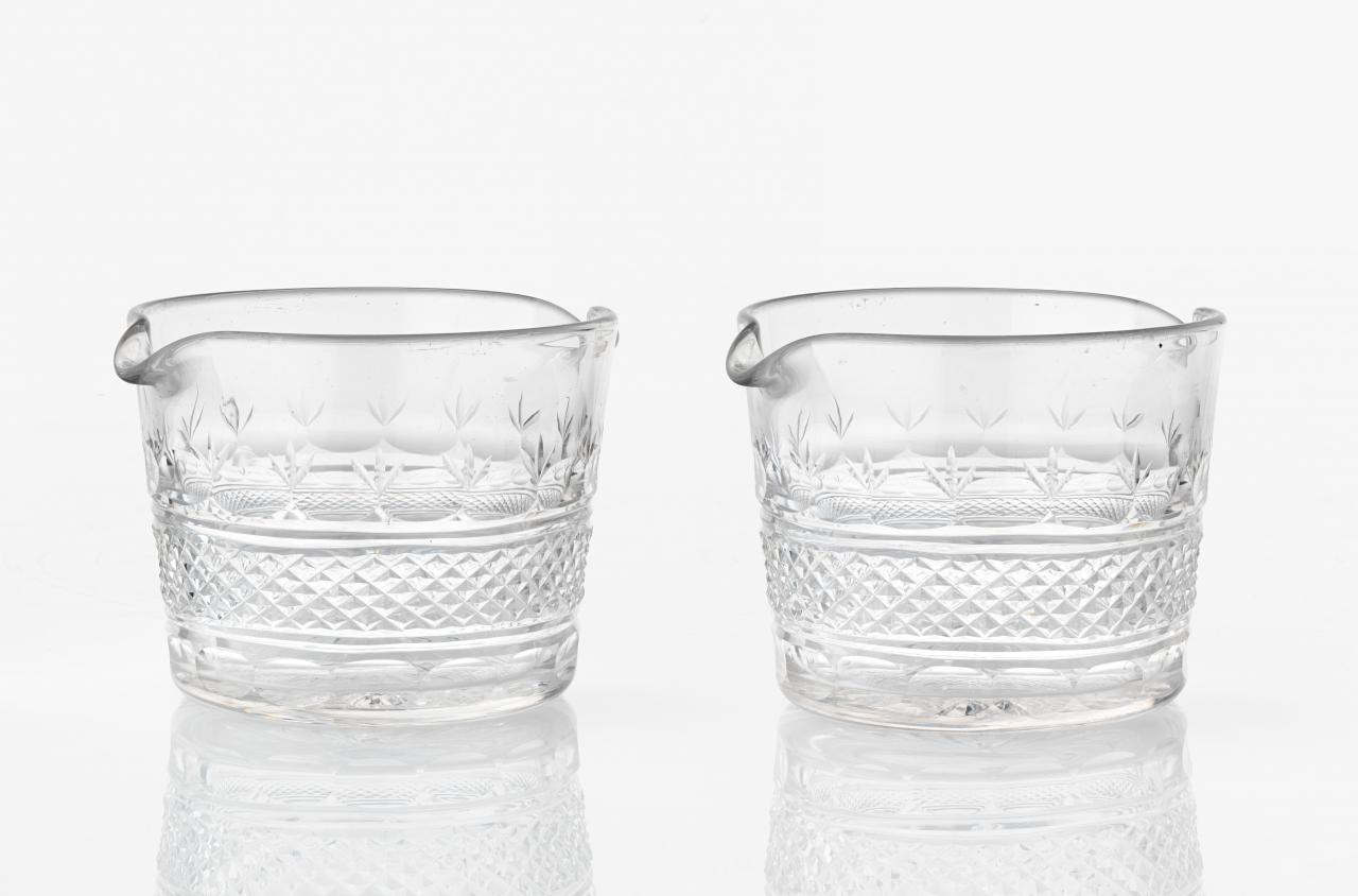 Pair of wine glass coolers