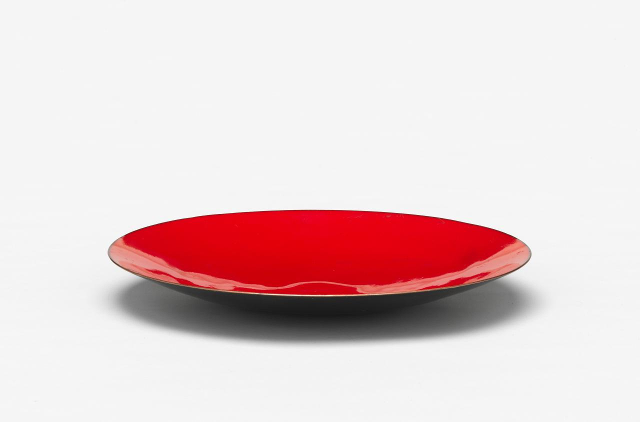 Plate (red)