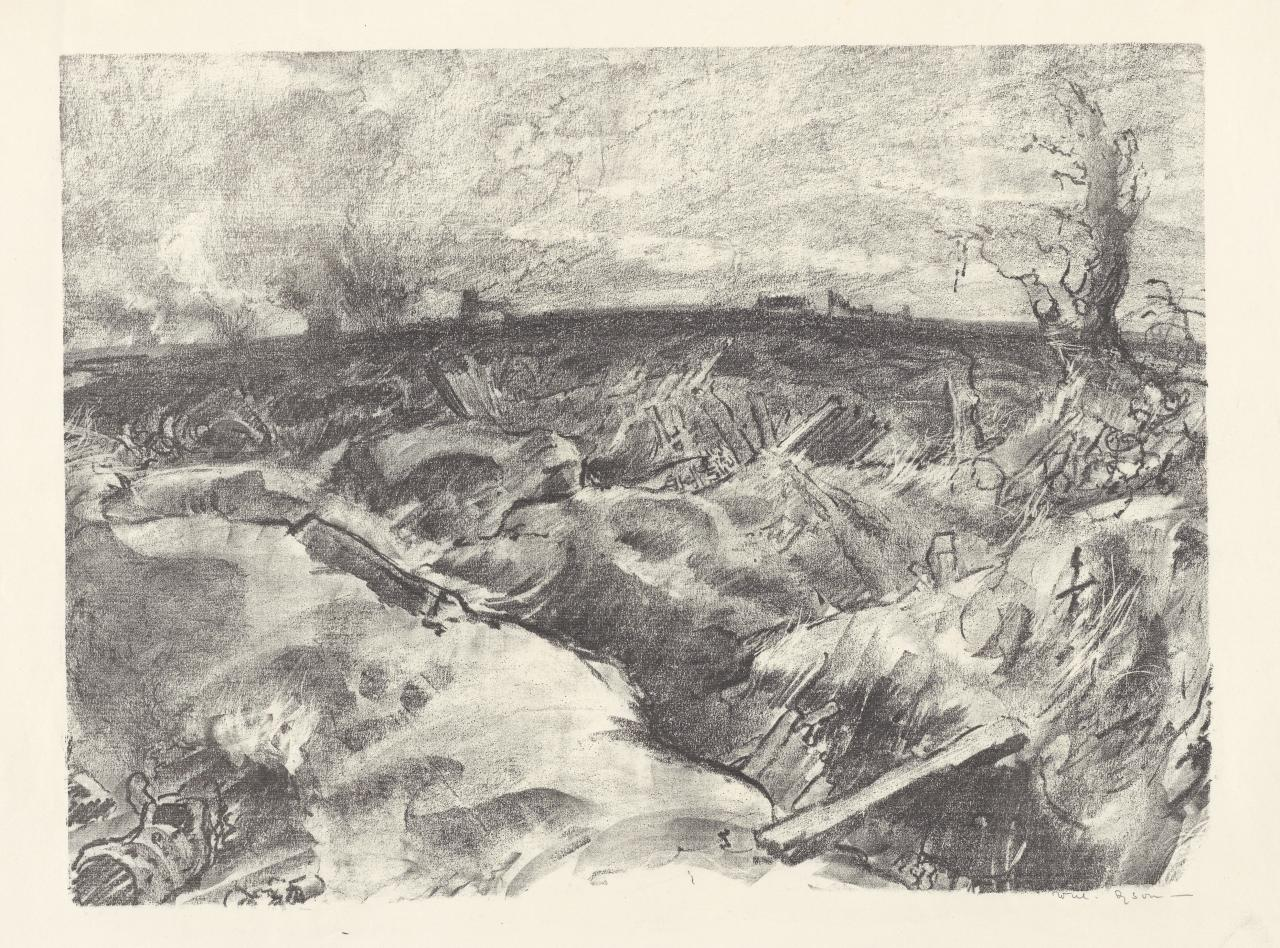 Messines, morning of the offensive