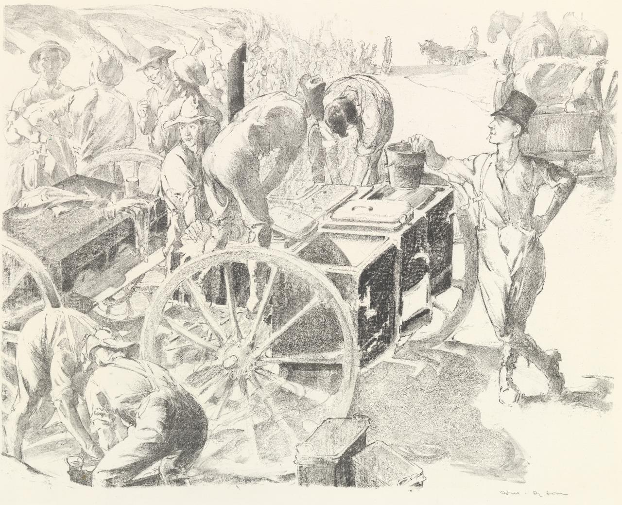 The cookers near Villers-Bretonneux