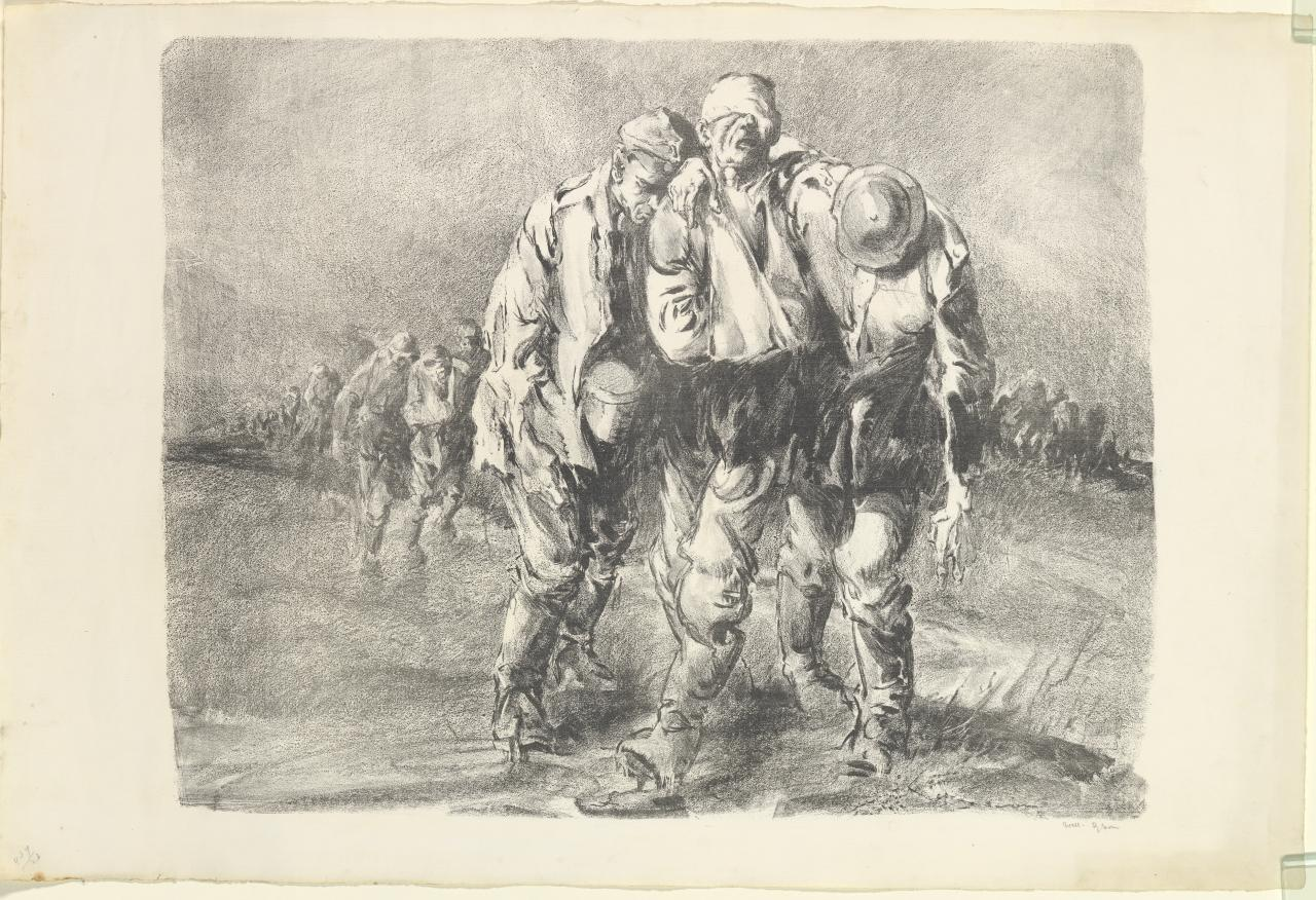 Wine of victory (German prisoners, the salient)