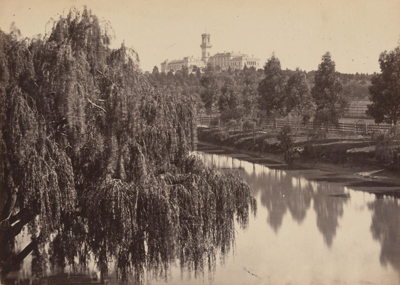 Government House from Botanic Garden's bridge