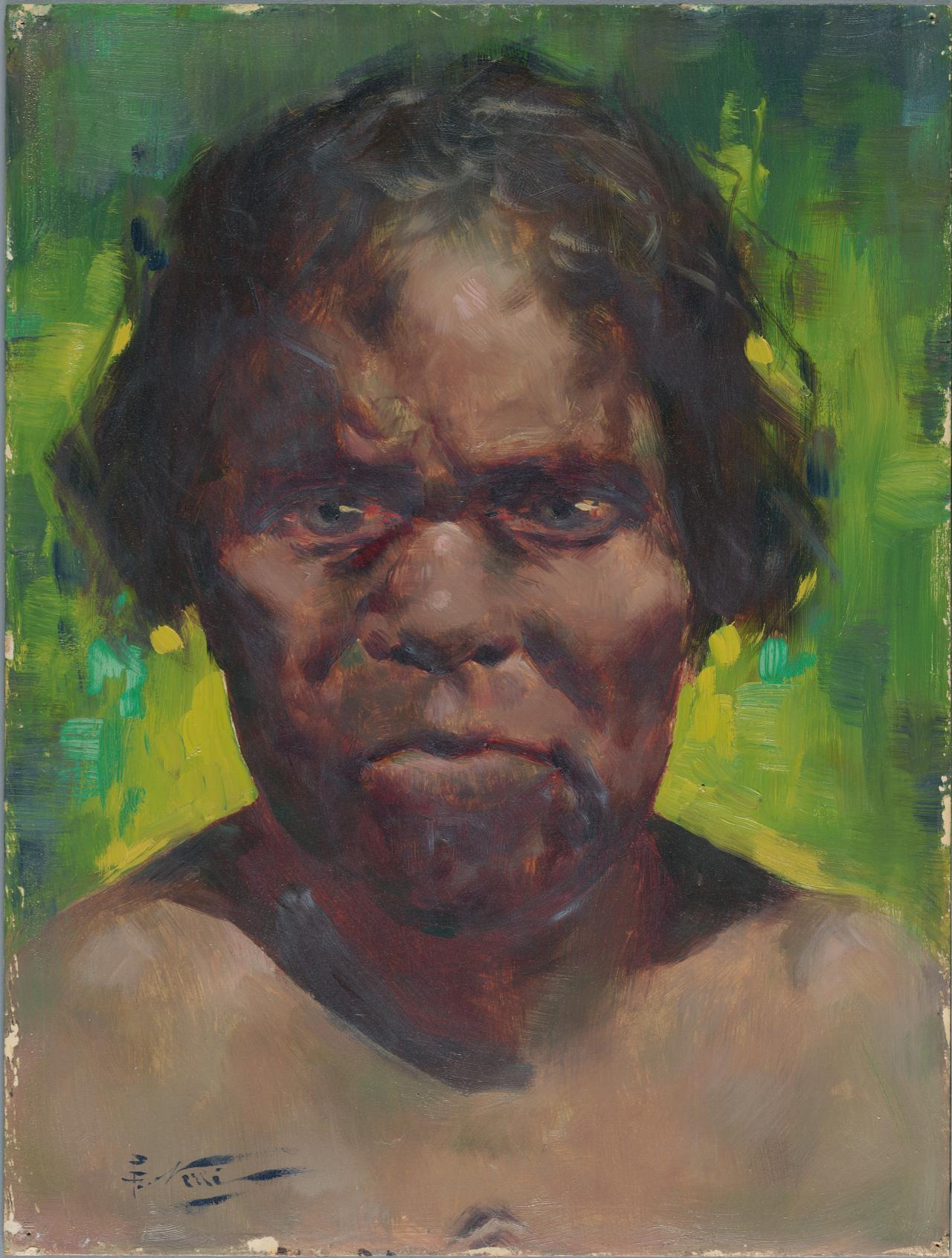 Portrait of an Aborigine