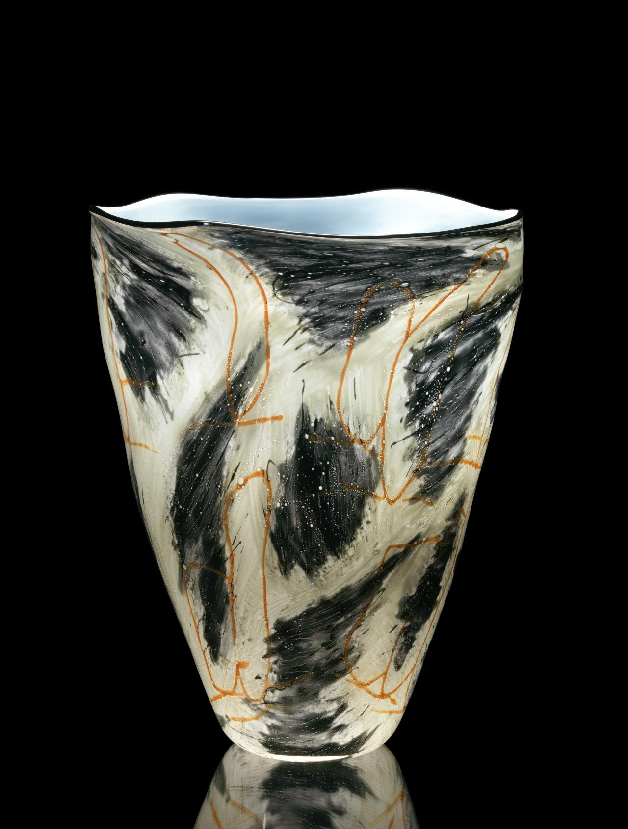 Clouded journey, vase