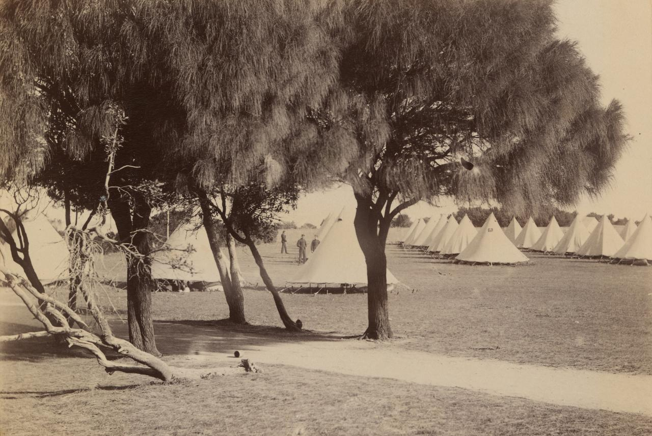 Military camp, Queenscliff