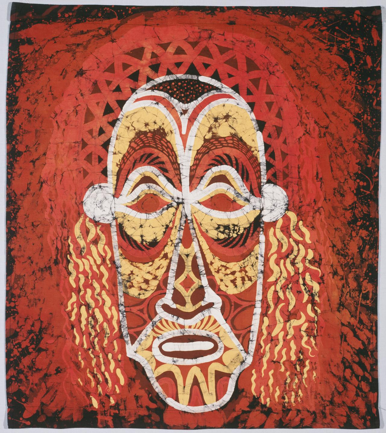 Island mask, fabric length