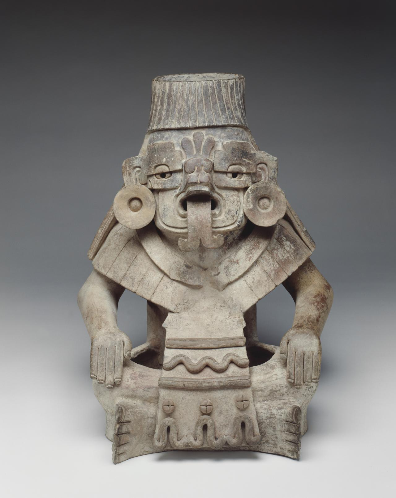 Urn of Cocijo, god of rain