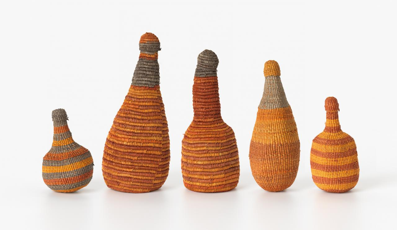 Suite of woven bottles
