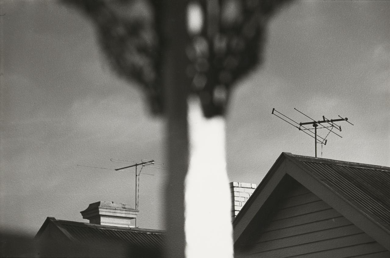No title (Roof tops and television antennas)