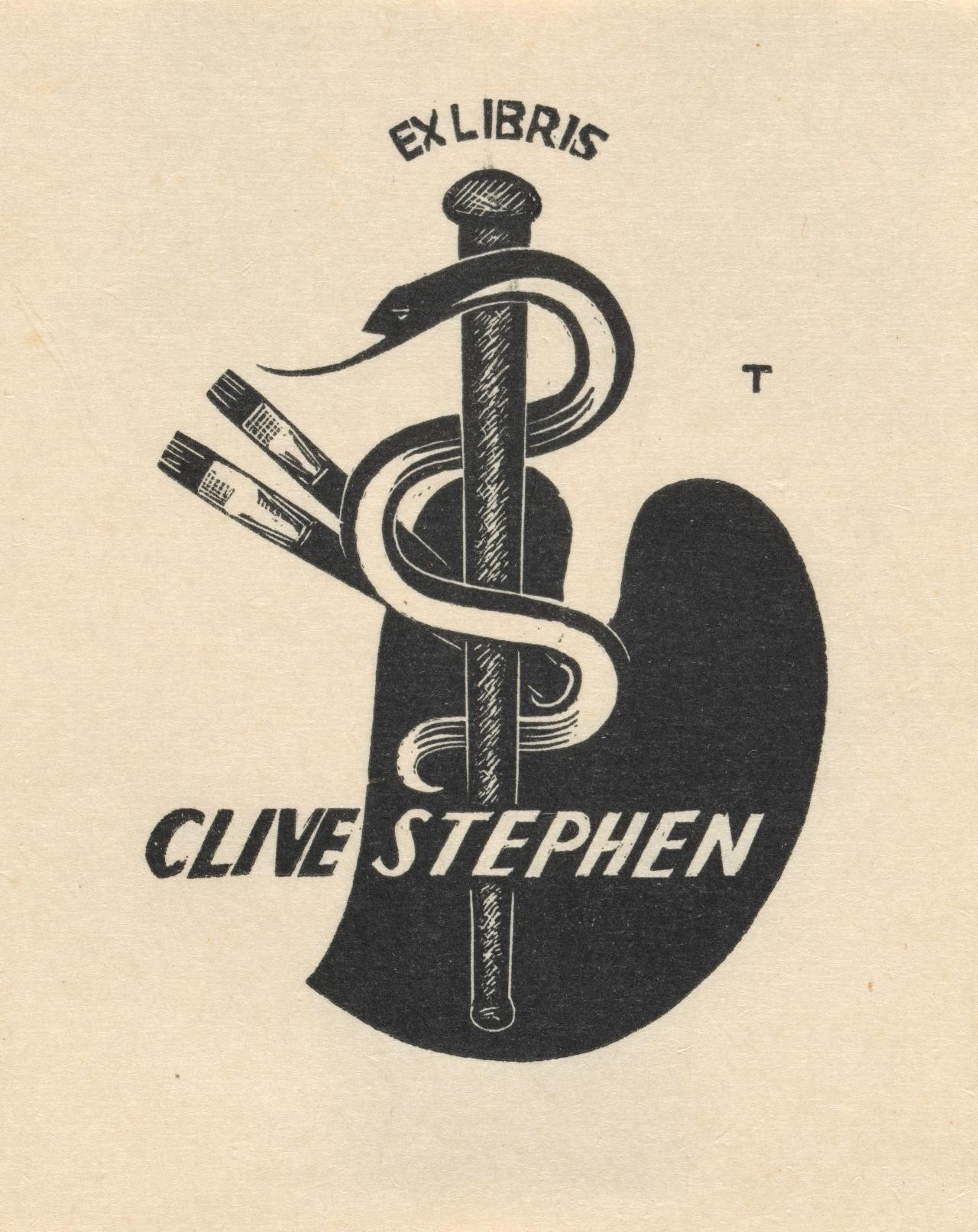 Bookplate: Clive Stephen