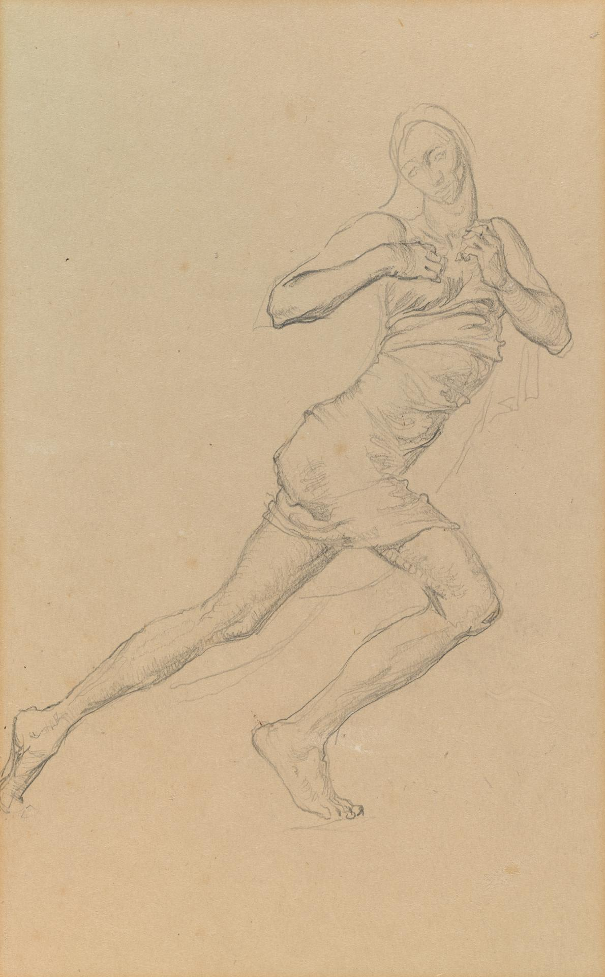 Study for the Myer Murals (Dancing figure)