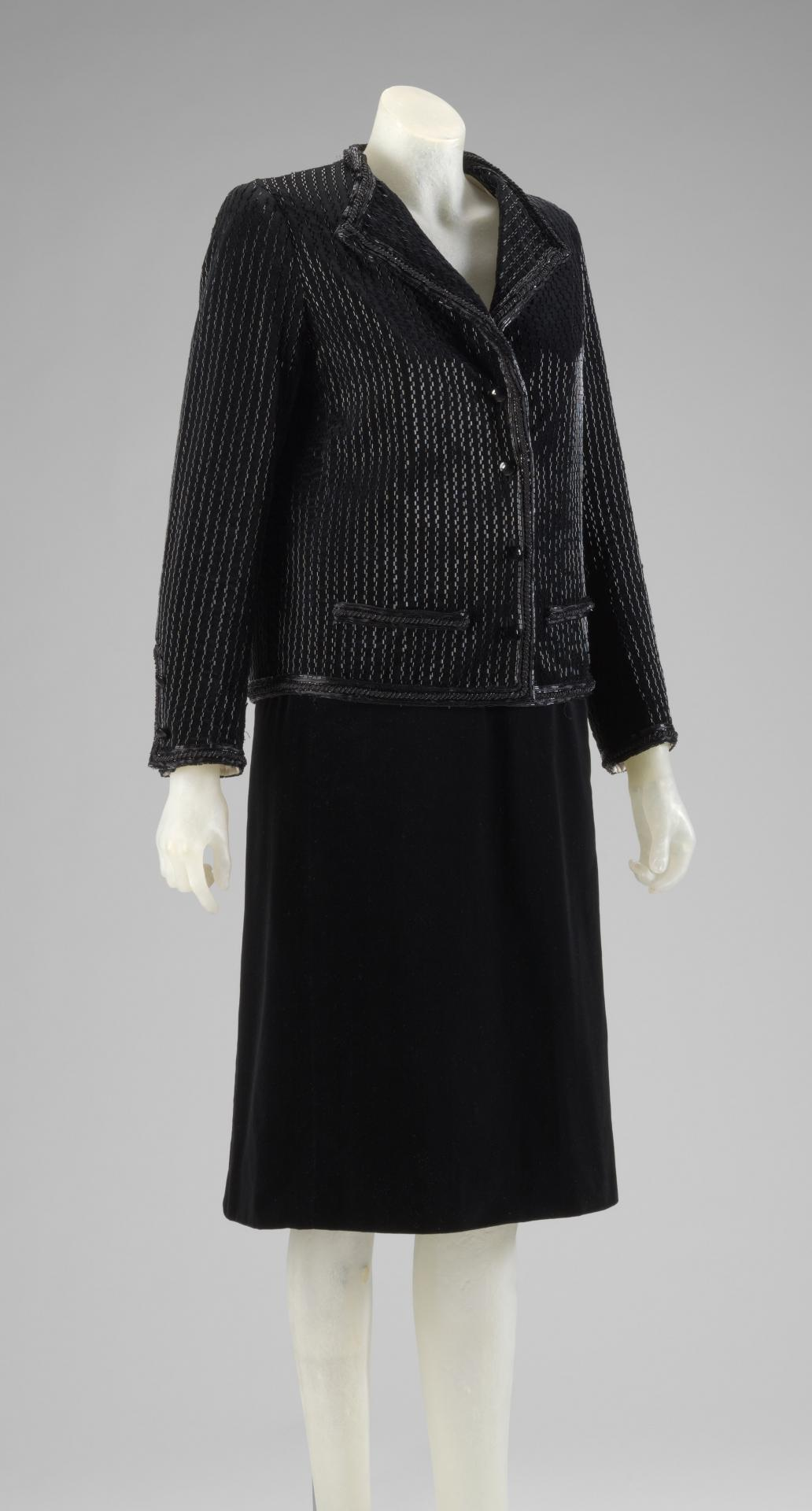 Suit; comprising jacket and skirt