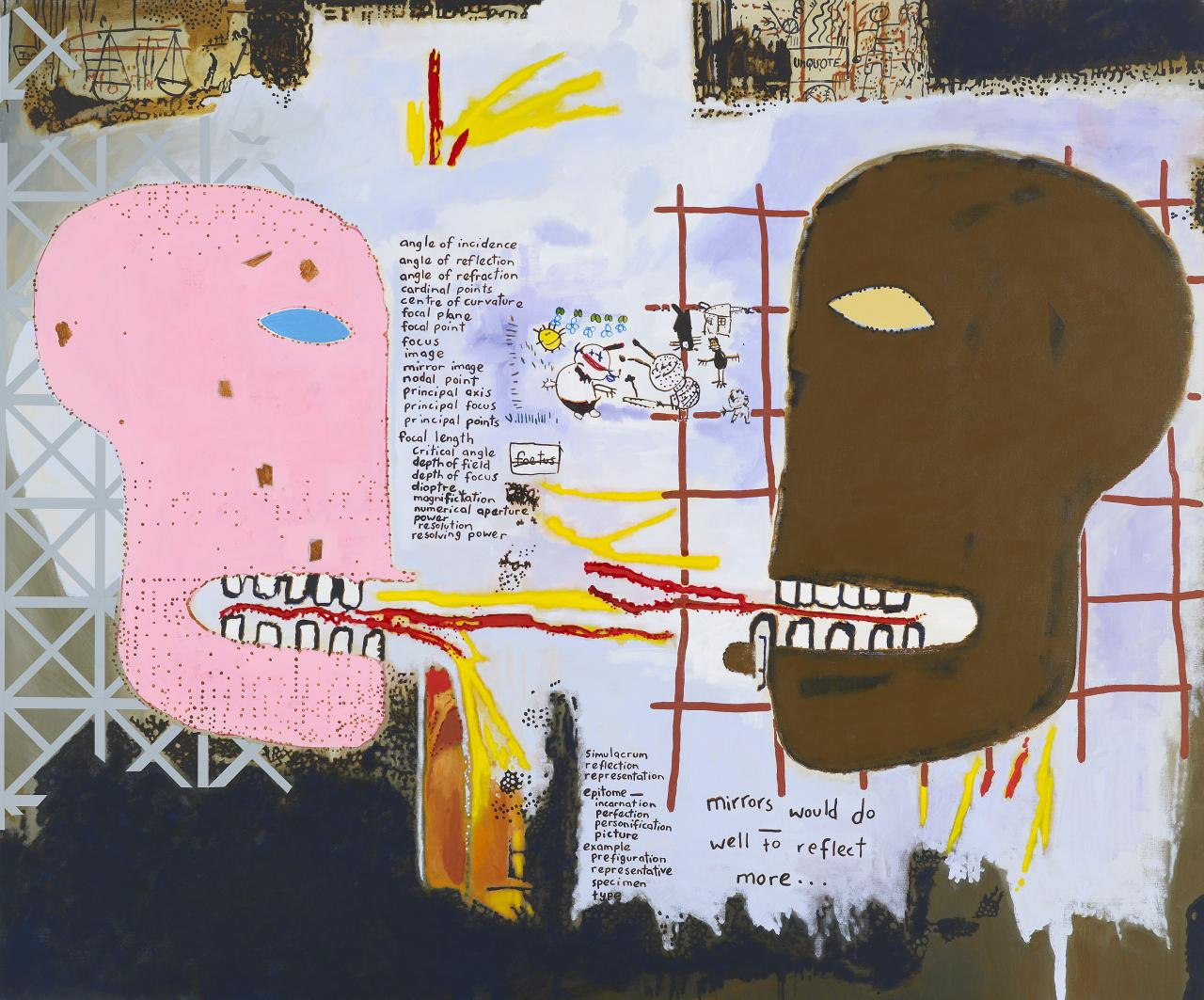 Notes to Basquiat: Double vision