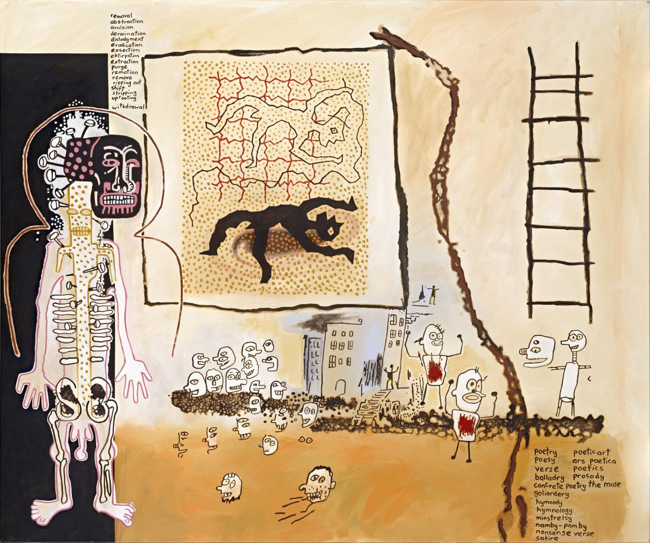 Notes to Basquiat: Poet and Muse