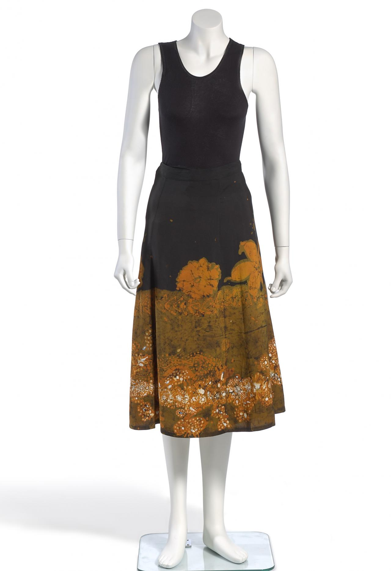 Wraparound skirt