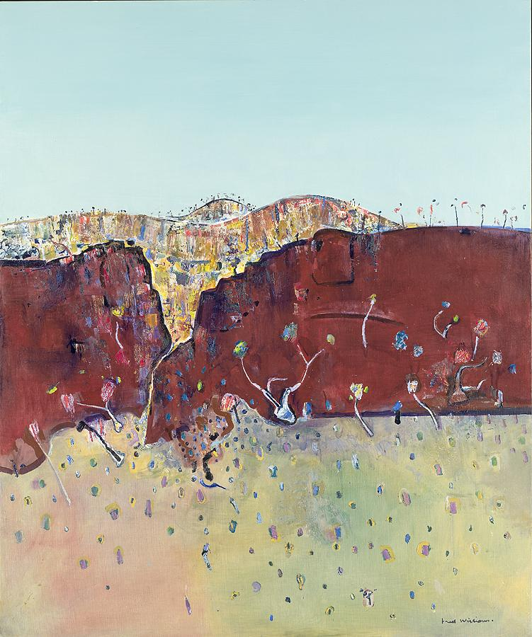 Red cliff landscape