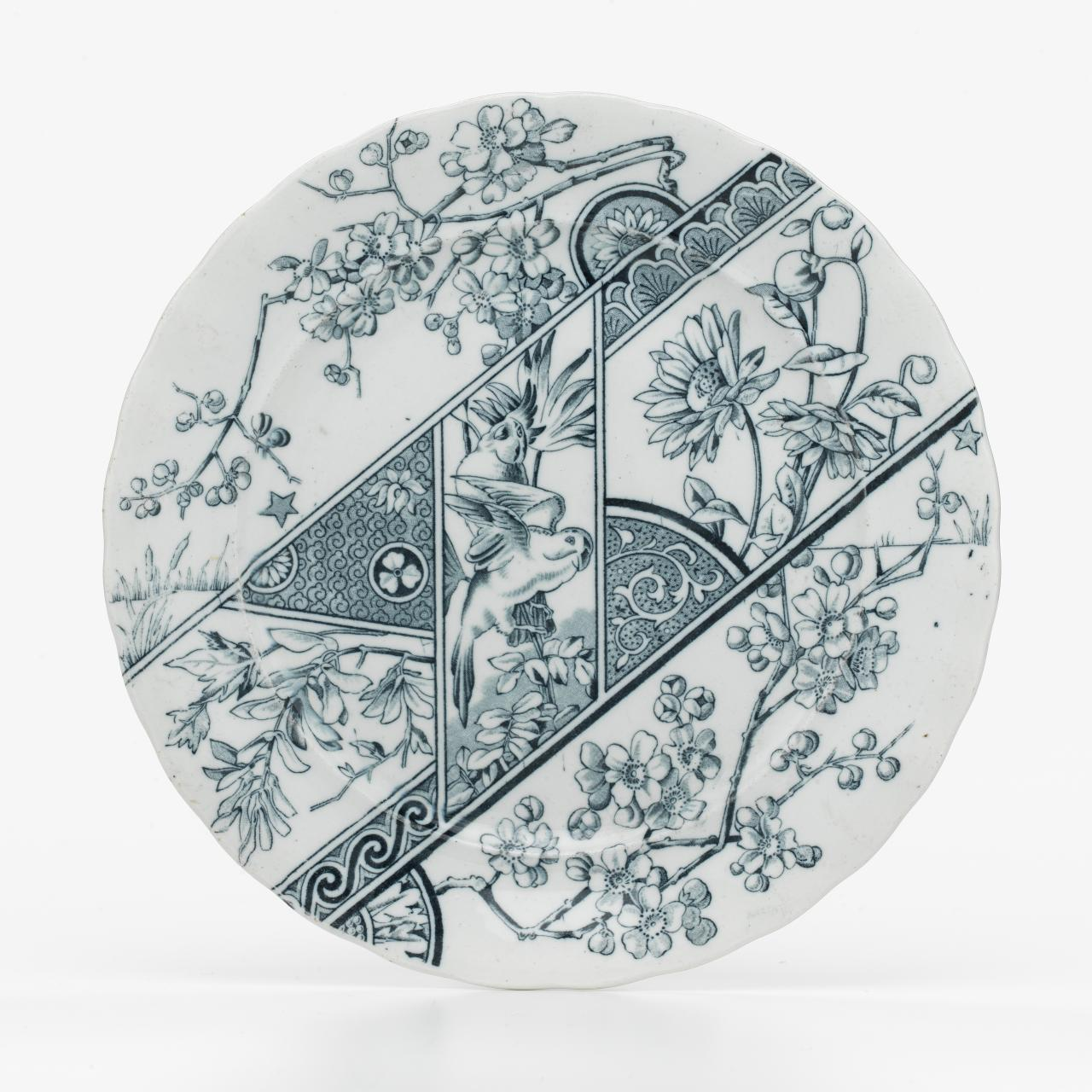 Melbourne pattern, plate