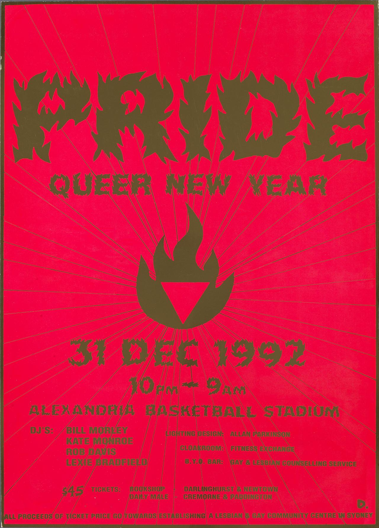 Pride Queer New Year 31 December 1992