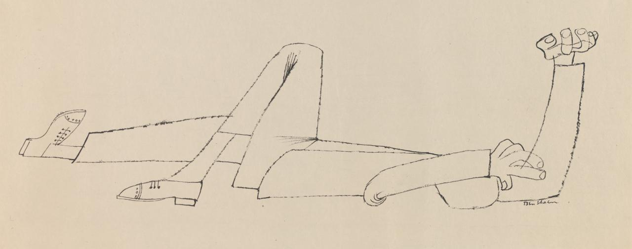 (Double-sided drawing of reclining man)