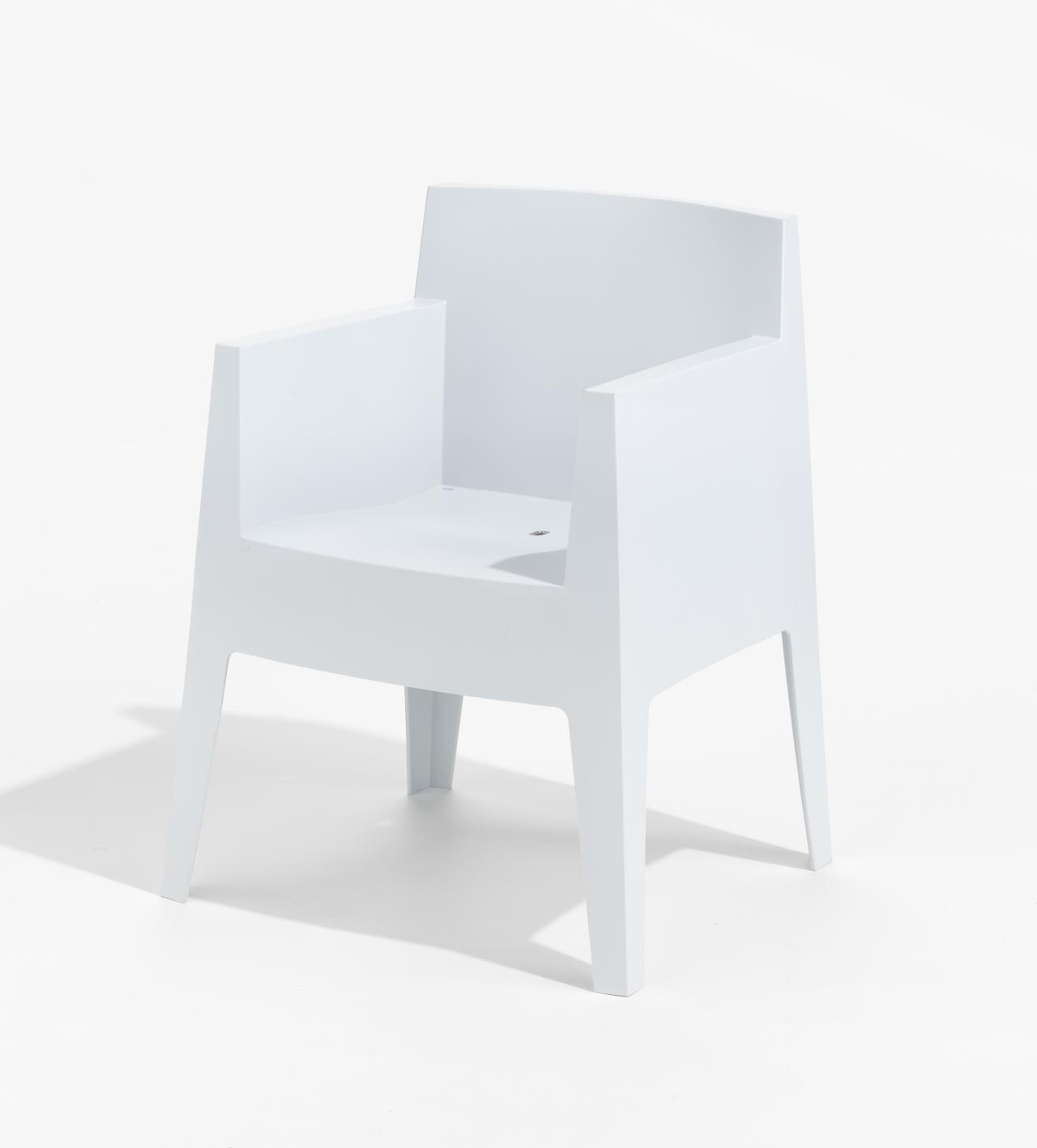 toy armchair grey philippe starck designer driade milan