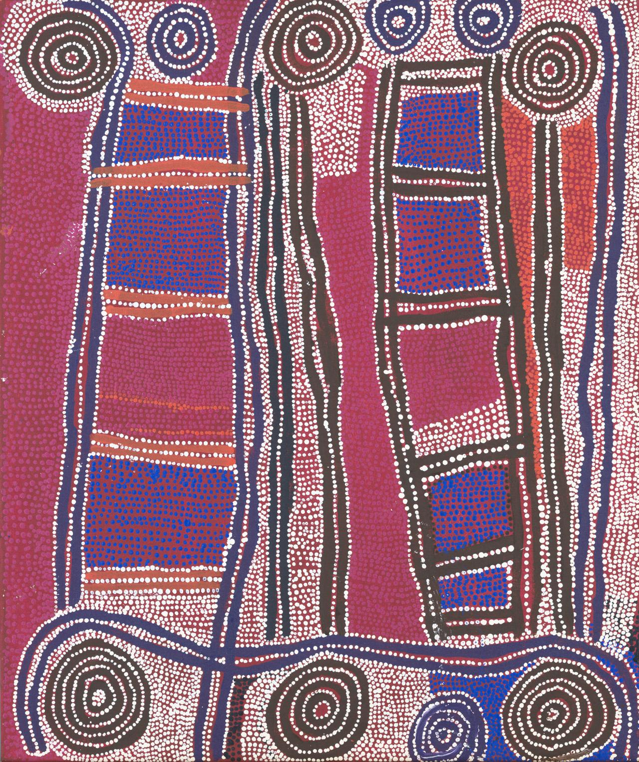 Wati Jarra Jukurrpa (Two men Dreaming)