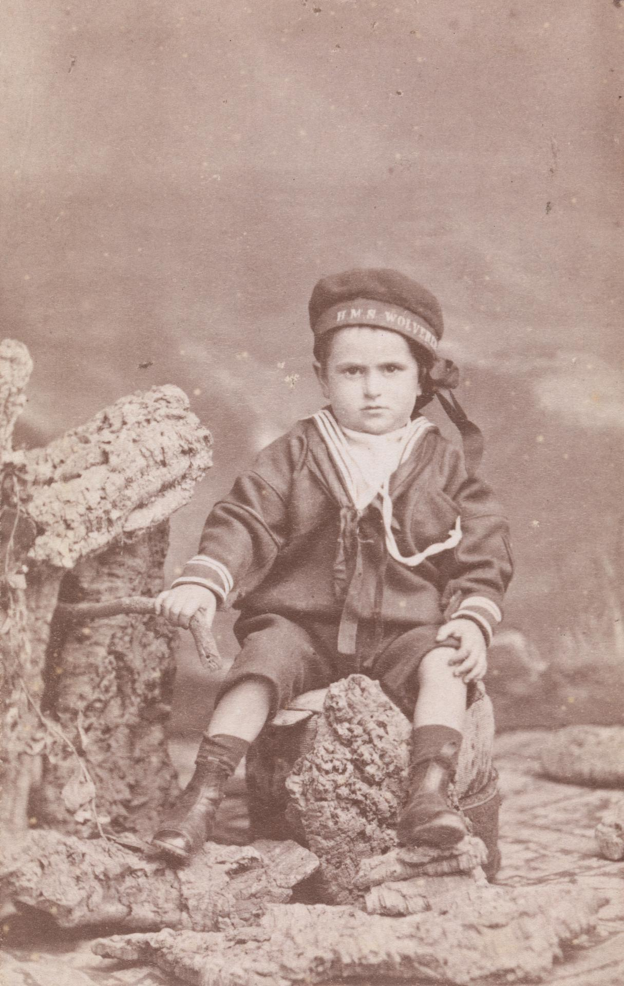 Mrs Hooper's boy, aged three, carte-de-visite
