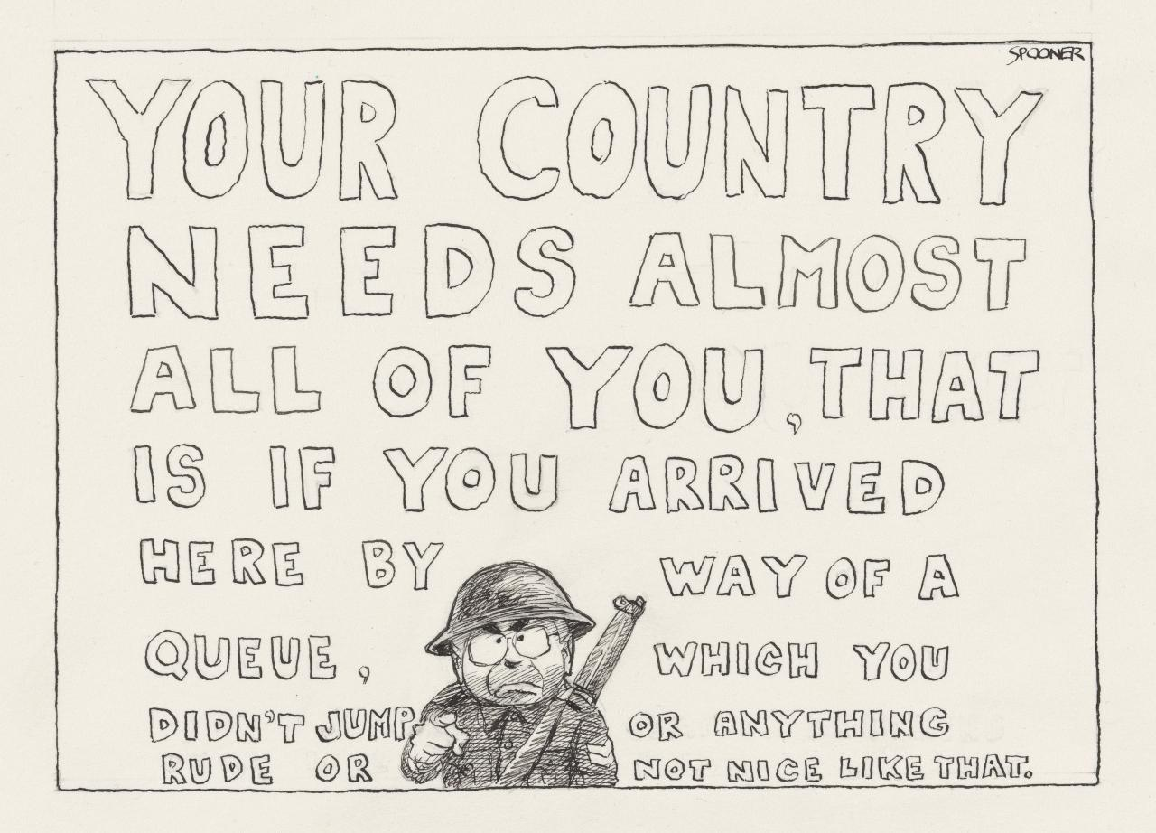 Howard (Your country needs almost all of you)