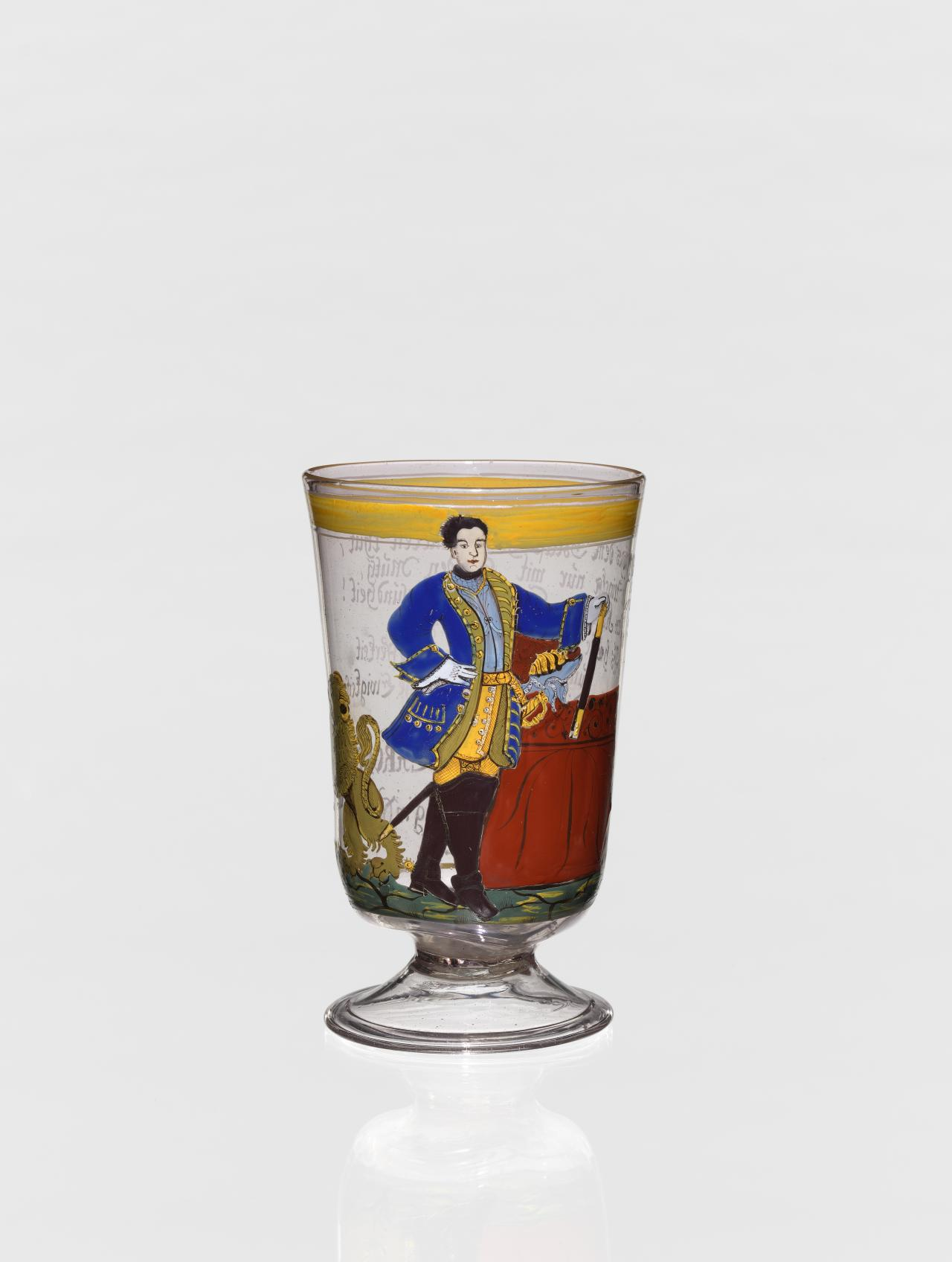 King Charles XII of Sweden, beaker