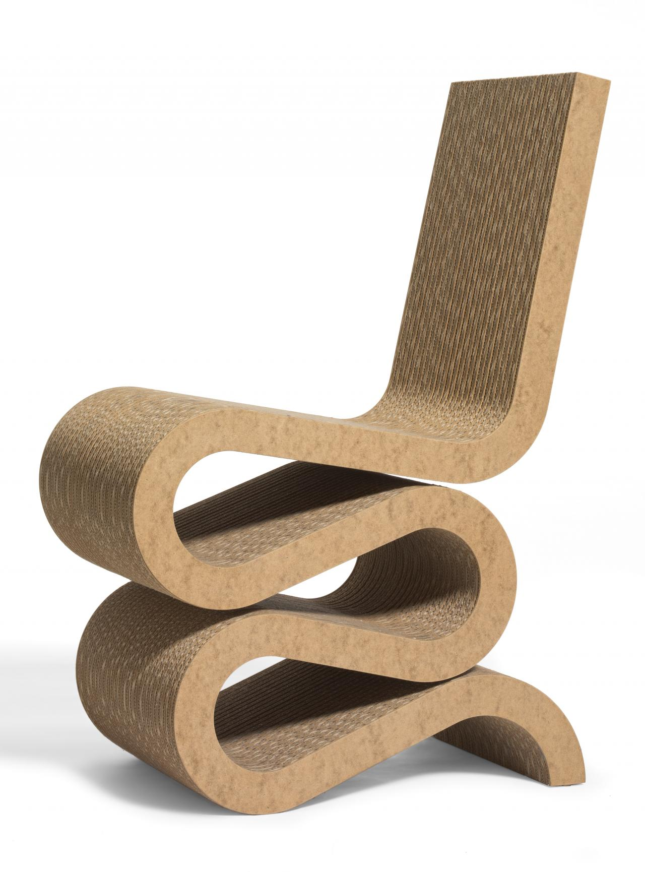 Wiggle Side Chair Frank O GEHRY designer VITRA Weil
