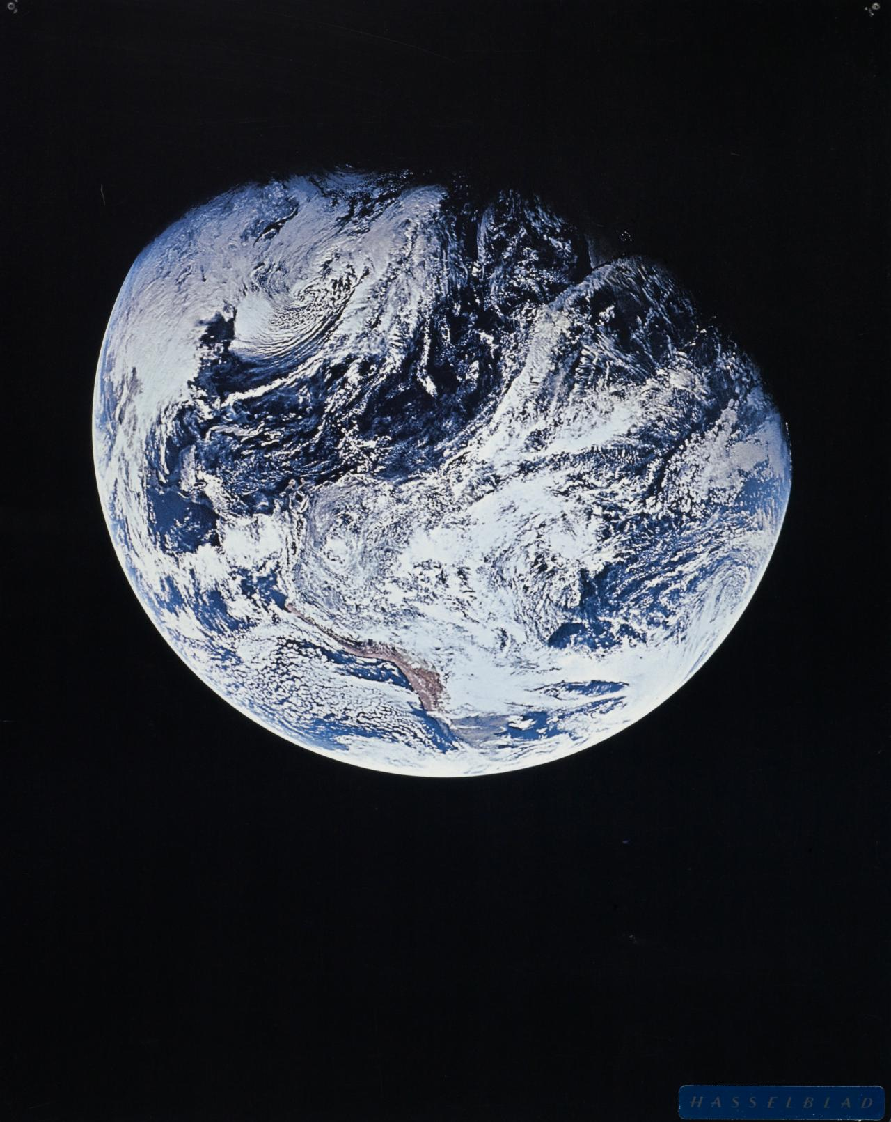 The Earth showing Southern Hemisphere