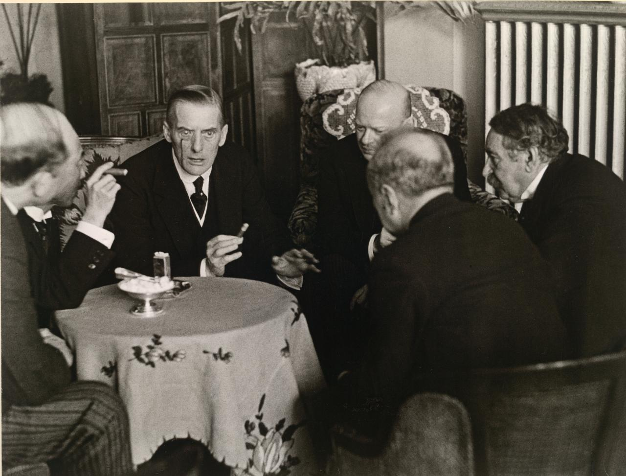 Foreign Ministers Conference on French-German collaboration at the Hotel Splendide, London, 1928