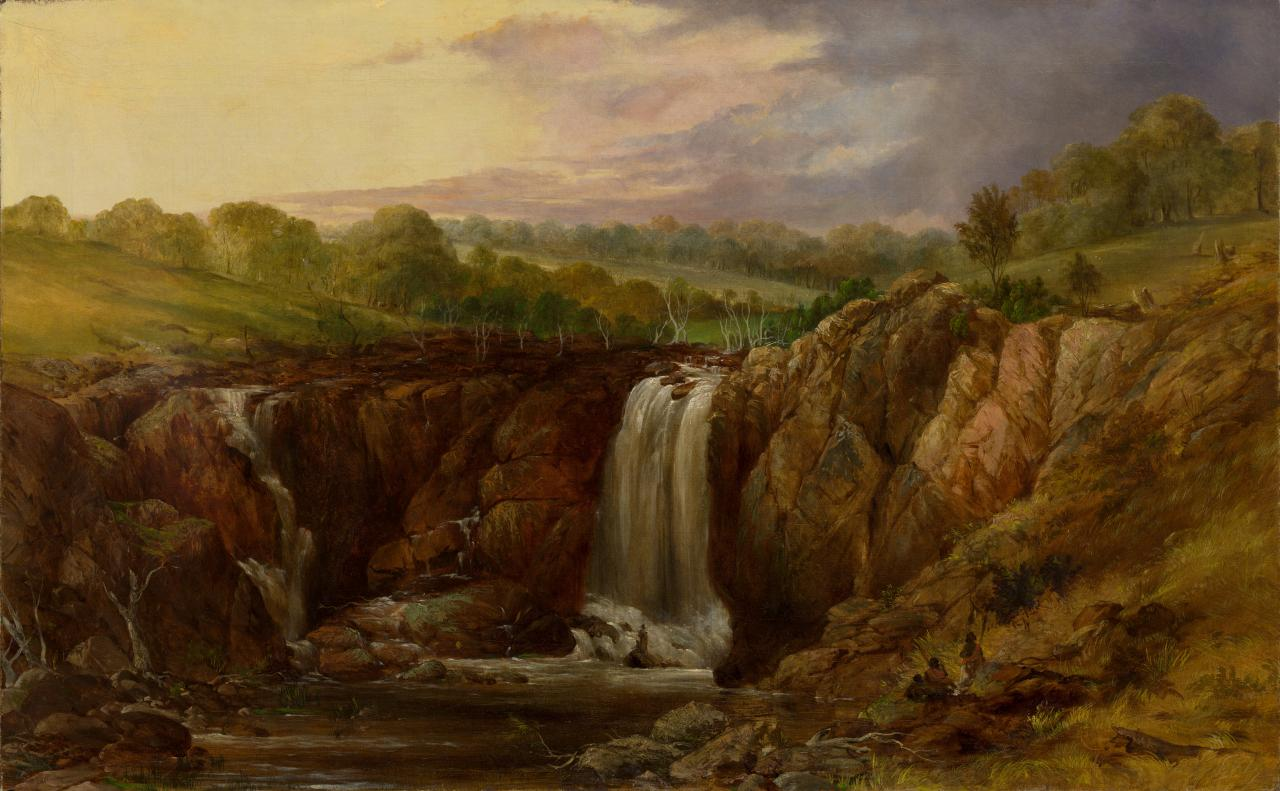 (The Upper Falls on the Wannon)