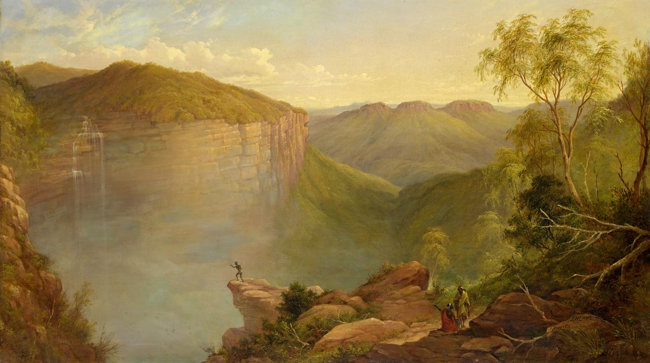 (The Weatherboard Falls, Blue Mountains)