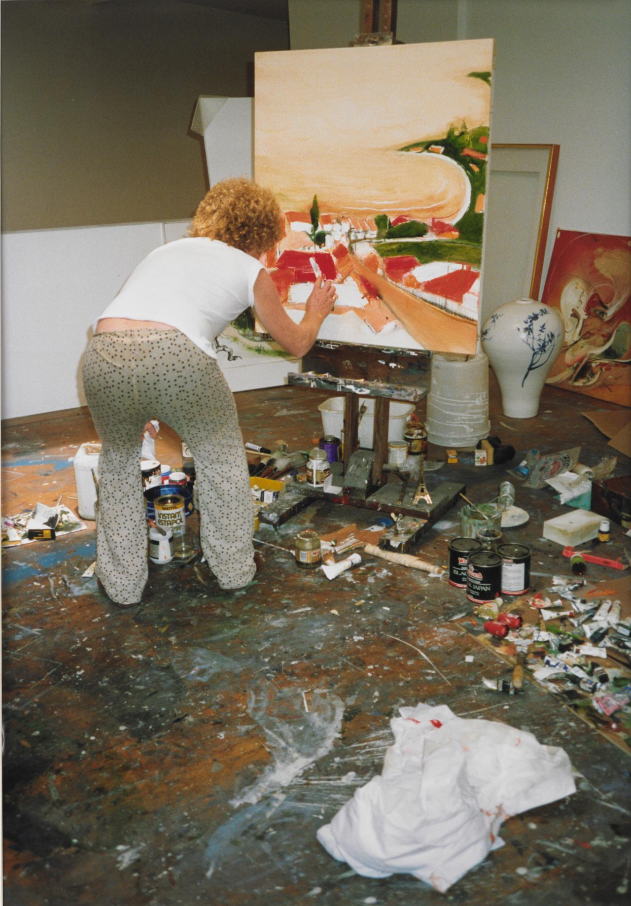 Brett Whiteley's studio