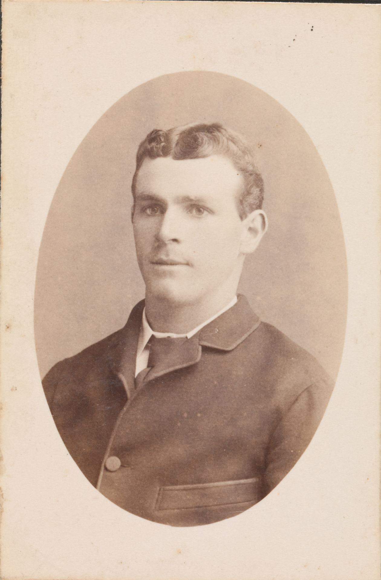 No title (Young man), carte-de-visite