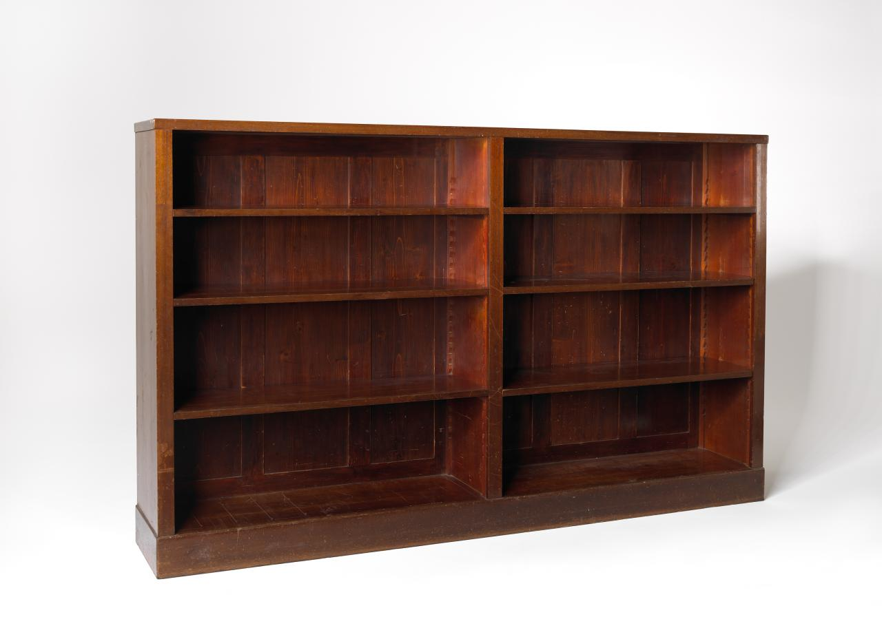 Bookcase, from the Langer apartment
