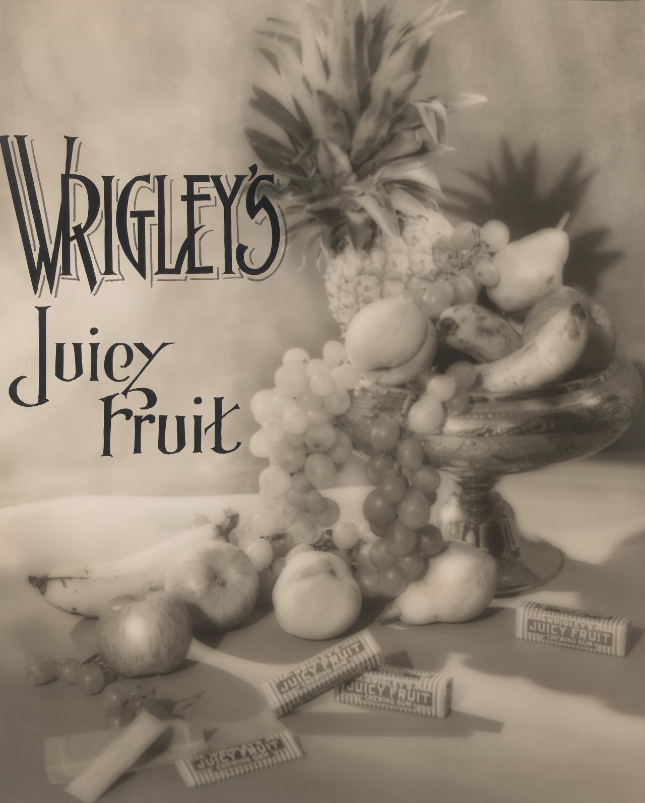 Advertisement for Wrigley's Juicy Fruit