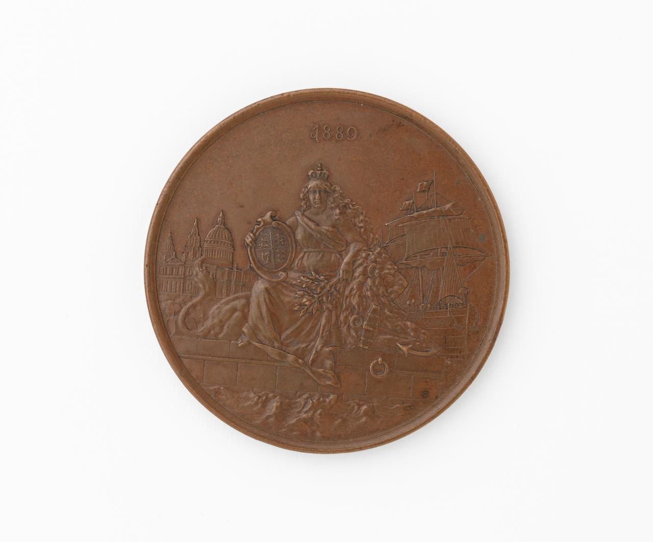 Naval review at Spithead 1889, commemorative medal