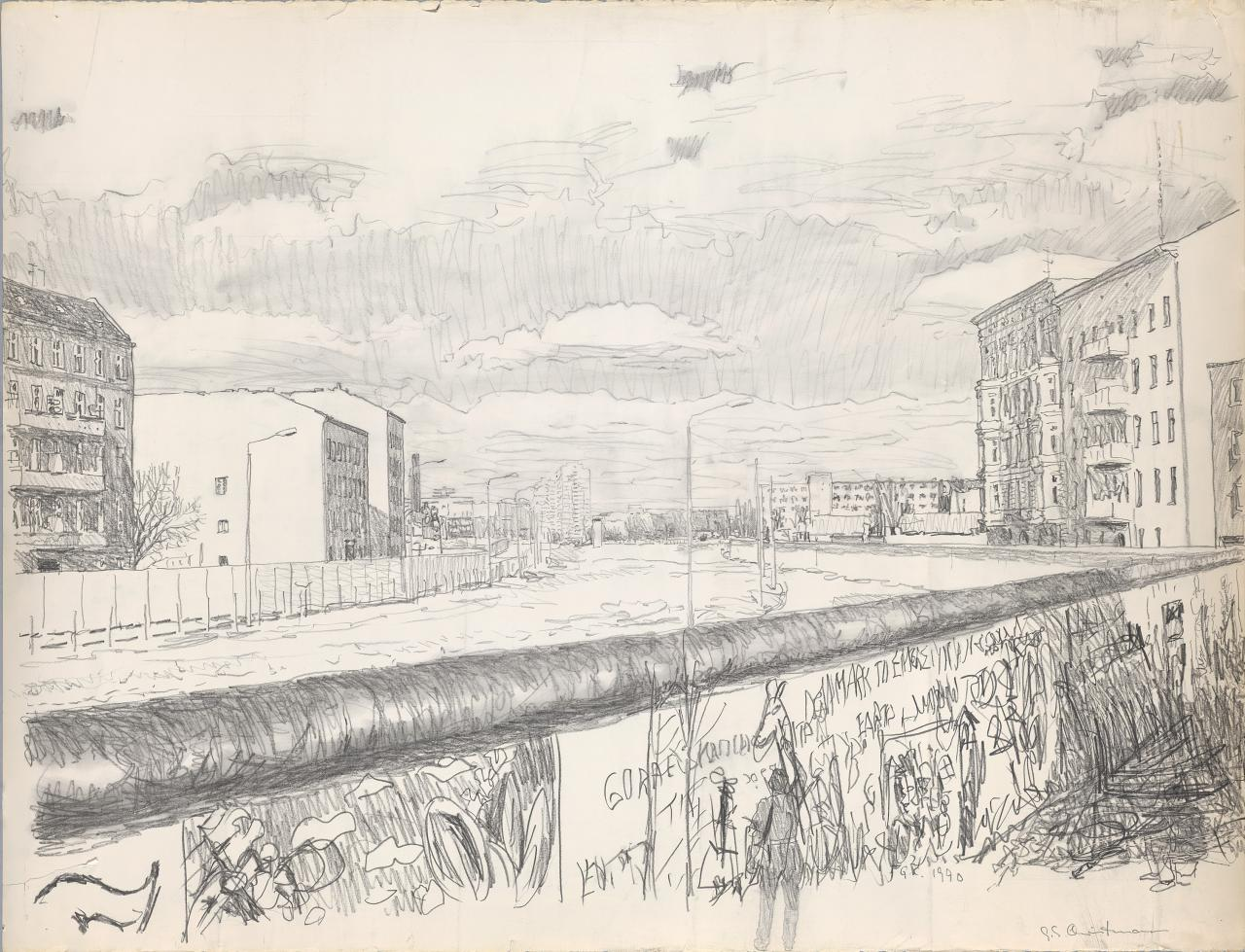 Untitled (Berlin wall)
