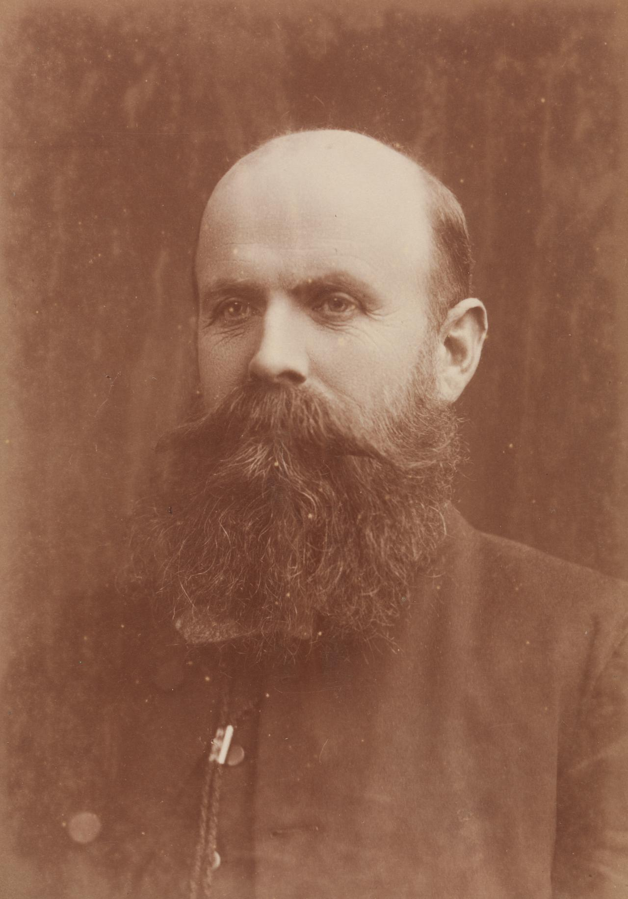 No title (Balding man, with full beard), cabinet print