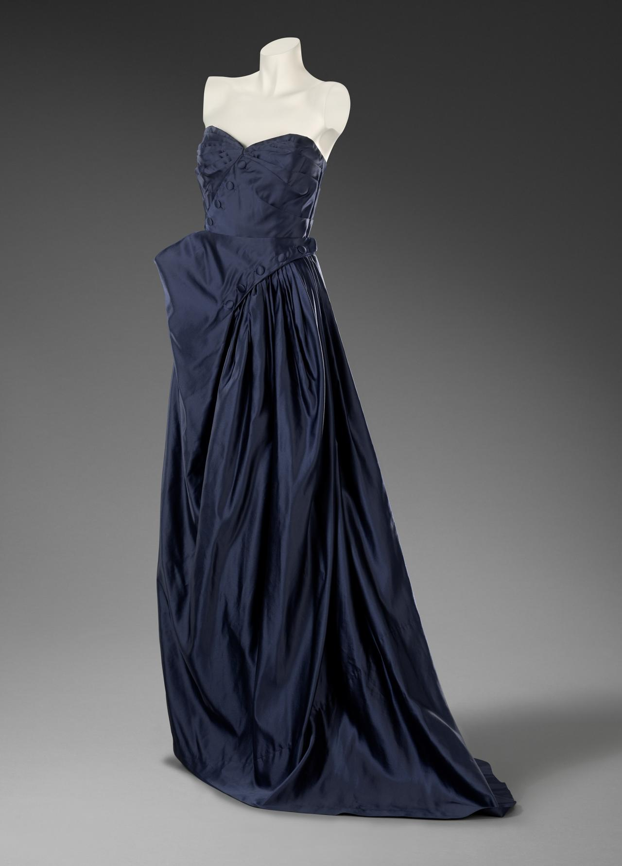 Gruau evening dress