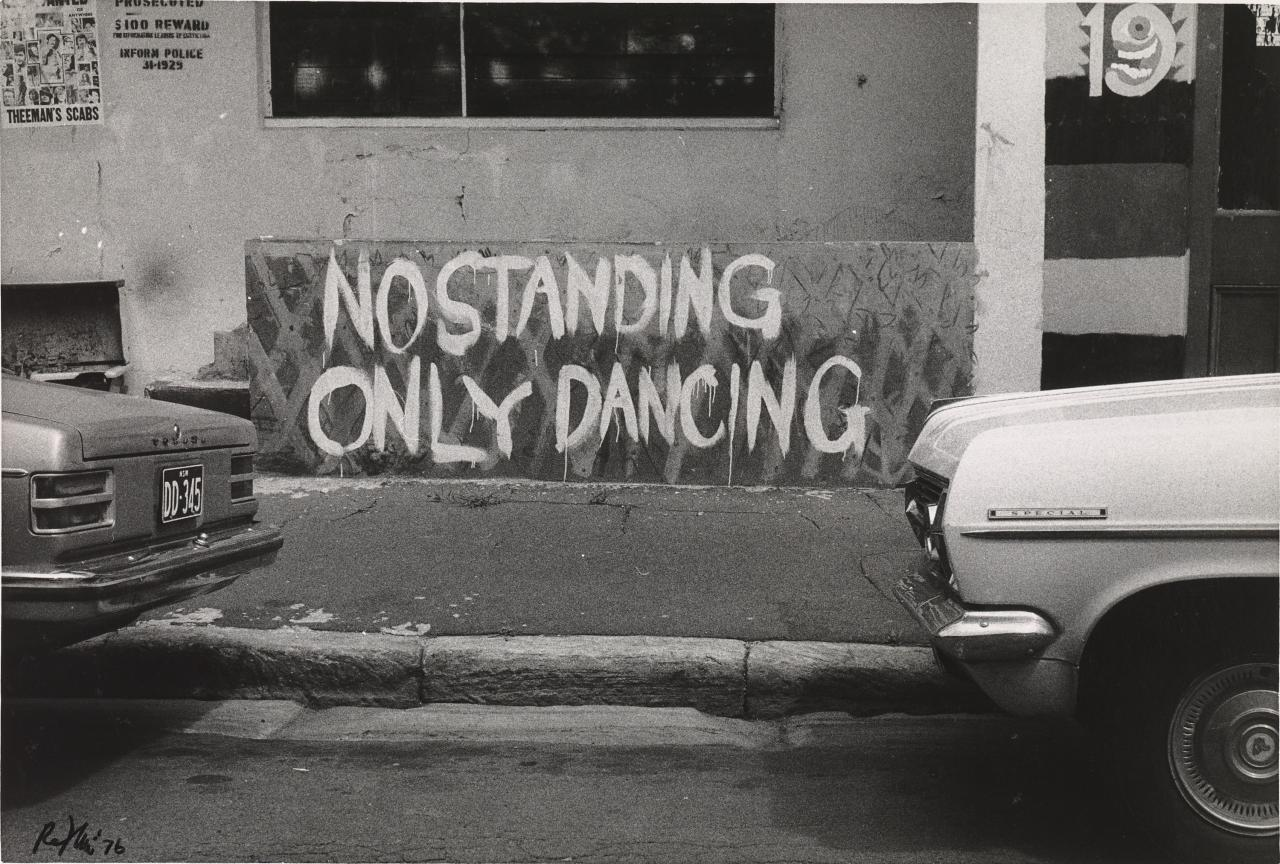 No standing, only dancing