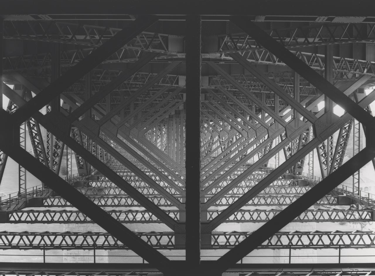 Harbour Bridge support system