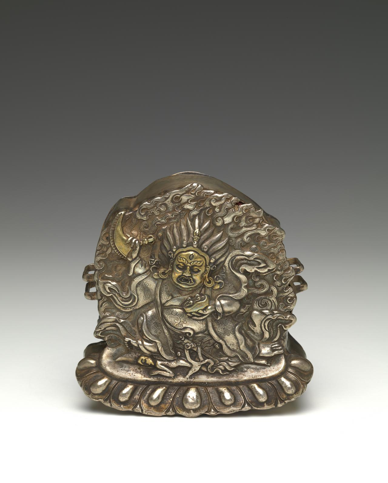 Amulet box (gau) depicting Mahakala