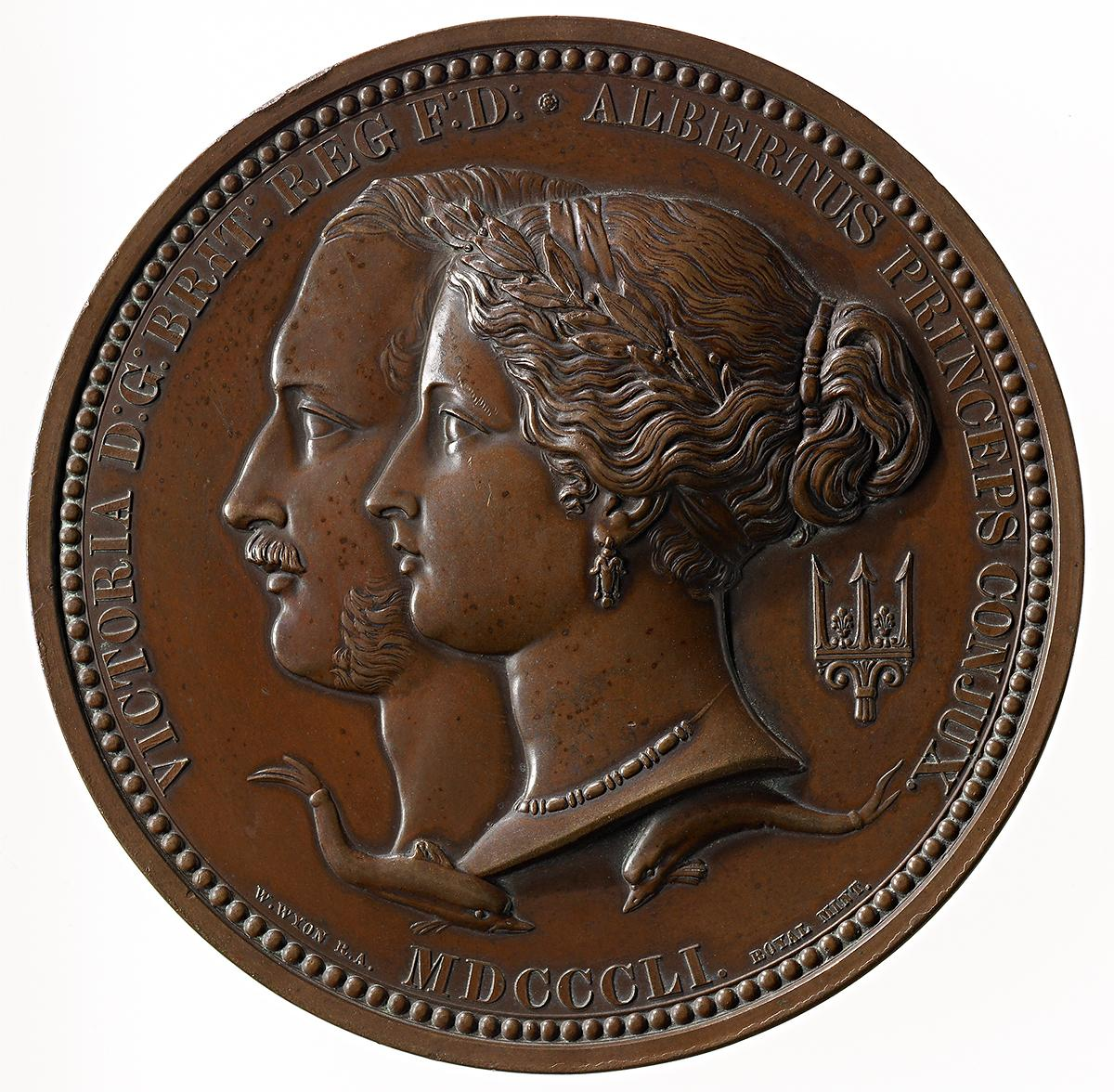 The Great Exhibition of the works of Industry of All Nations, London, prize medal