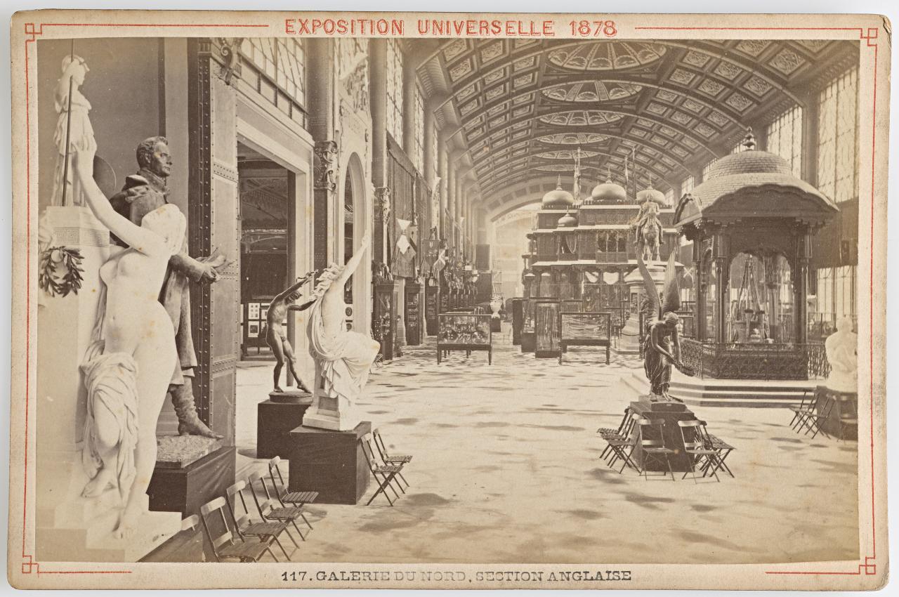 Universal exposition paris palace of the champ de mars for Expo paris mars