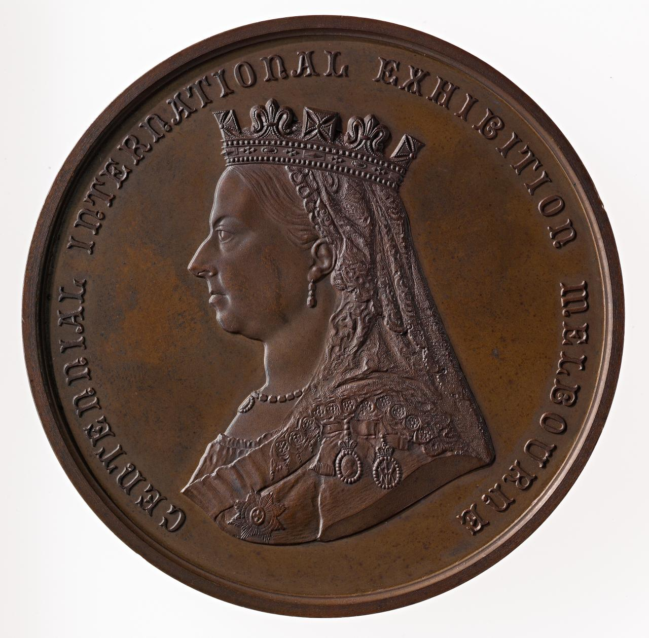 Centennial International Exhibition, Melbourne, prize medal